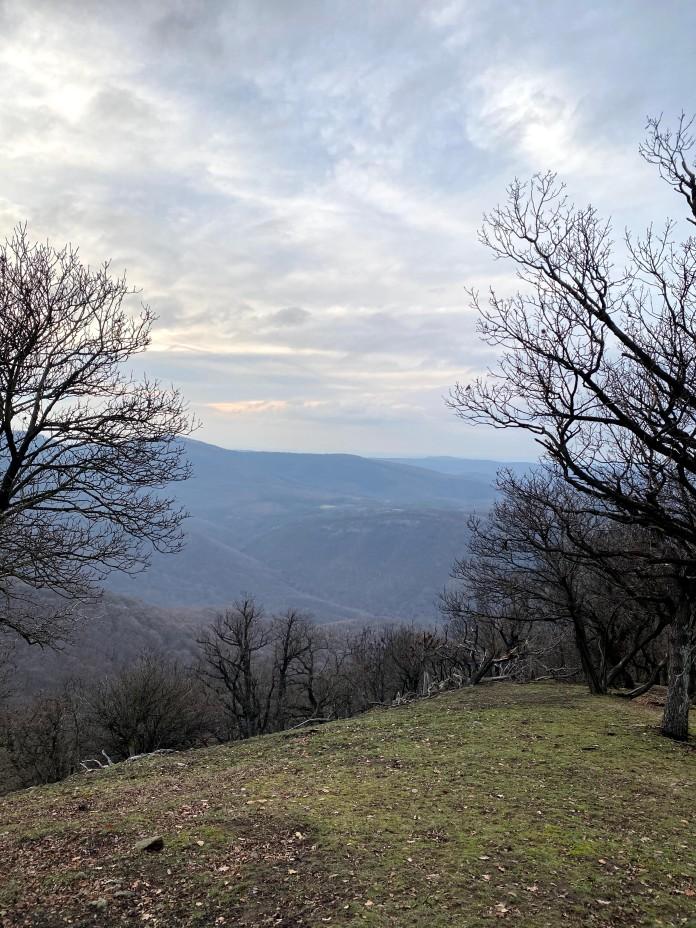 Üstök-hegyi kilátás Dömös felé